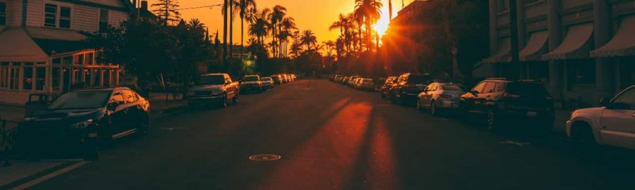 Conclusion Sunset Stop sign image - Fiction Writing Prompts